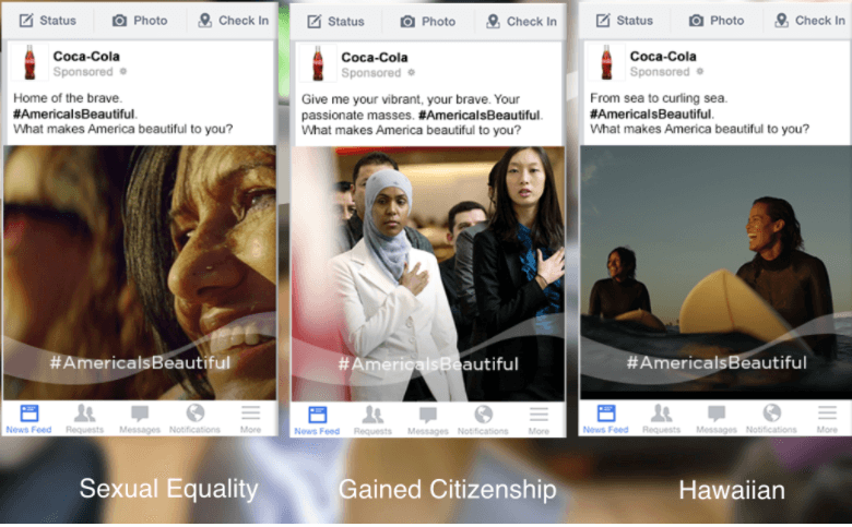 Coke Facebook Ad Examples