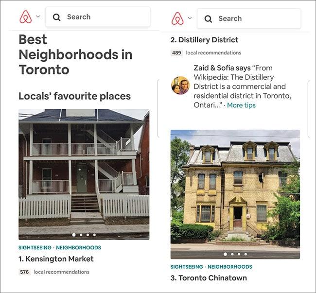airbnb neighborhood guide