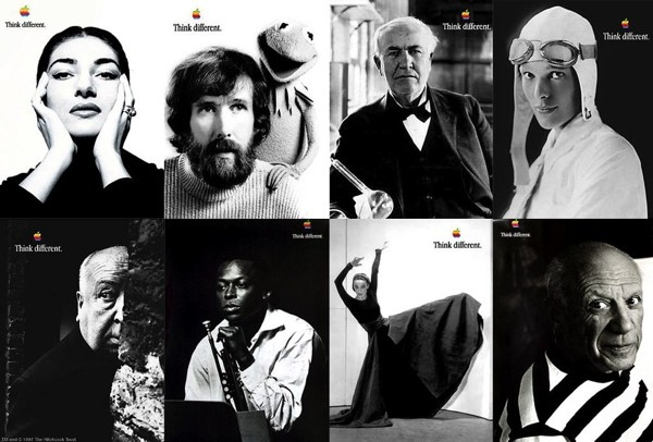 "Apple ""Think Different"" - Classic Advertising"